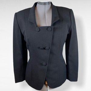 Vintage Christian Dior 80's suit jacket - size 10